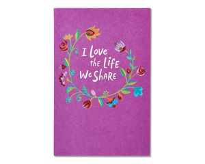 life we share romantic card