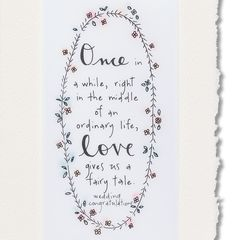 Fairy Tale Wedding Greeting Card