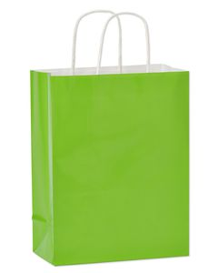 Medium Gift Bag, Lime Green