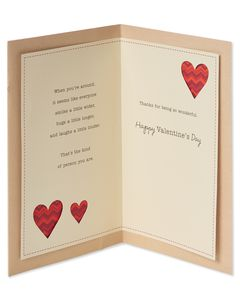 Wonderful Difference Valentine's Day Card