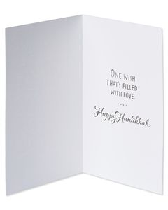 Eight Nights Hanukkah Card, 6-Count