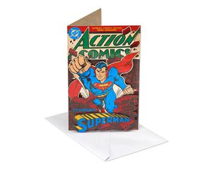 Superman Father's Day Card for Husband