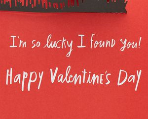 Stars Pop-Up Valentine's Day Card