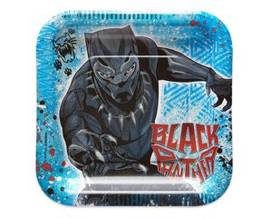 Black Panther Dessert Plates, 8-Count
