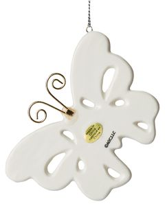 Mom Butterfly Christmas Ornament