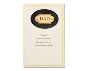 Thank You Father's Day Card
