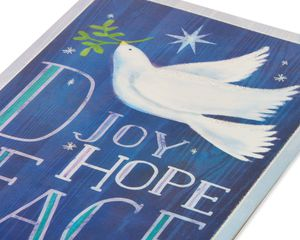 Joy, Hope and Peace with Dove Christmas Boxed Cards, 14 Count