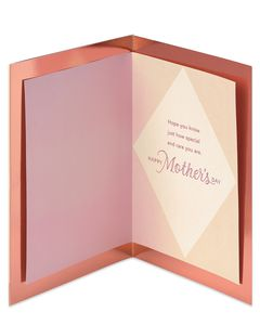 Premier Special and Rare Mother's Day Card