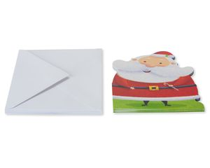 Santa Christmas Card, 6-Count
