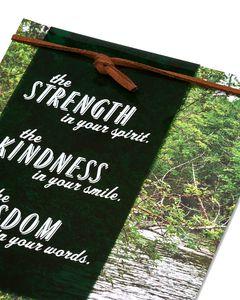 Strength Kindness Wisdom Father's Day Card