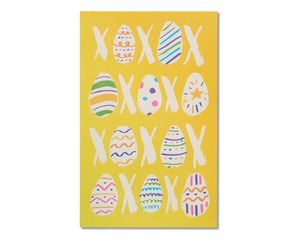 eggs and kisses easter card