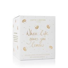 Katie Loxton When Life Gives You Lemons Candle