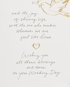 Kathy Davis Doves Wedding Card