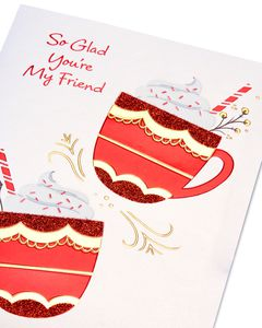 Hot Cocoa Christmas Card for Friend