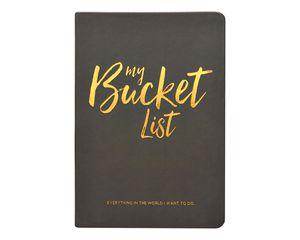 Eccolo Bucket List Journal