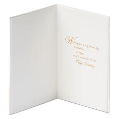 Calla Lily Birthday Greeting Card