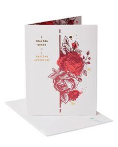 amazing adventure wedding congratulations card for brides