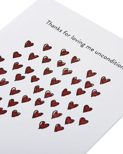 unconditional love mother's day card