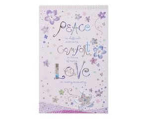 Peace Comfort Love Sympathy Card