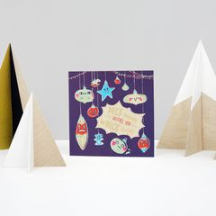 Deck Yourself Christmas Greeting Card