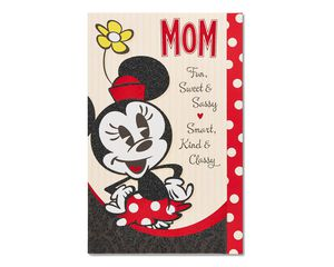 Minnie Mouse Mother's Day Card