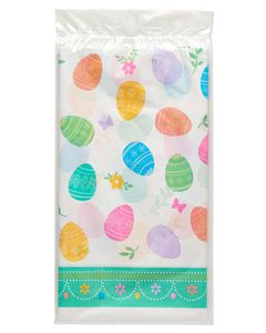 Lovely Easter Plastic Table Cover, 54