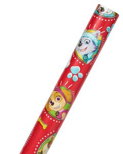 Paw Patrol Red Wrapping Paper, 20 sq. ft.