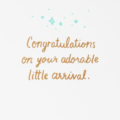 So Sweet Baby Congratulations Card