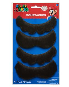 Super Mario Mustaches, 4-Count