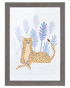 Cheetah Frameable Art Print, 5 in. x 7 in.