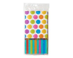 dots & stripes lunch napkins 16 ct