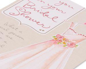 Dress Bridal Shower Card