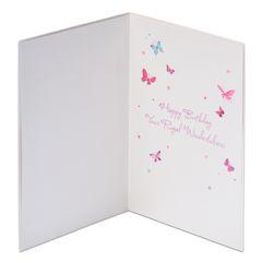 Tiara Birthday Greeting Card