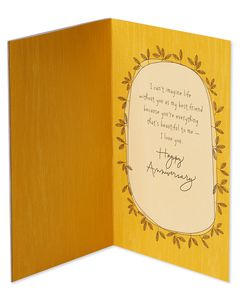 Best Friend Anniversary Card