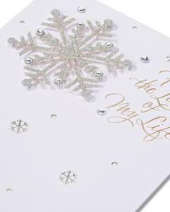 Dream Come True Sentimental Christmas Card