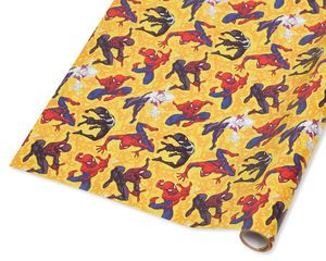 Spider-Man Wrapping Paper, 20 Total Sq. Ft.
