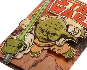 Star Wars Yoda Father's Day Card