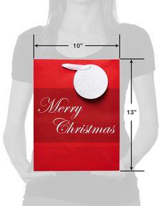 Large Merry Christmas Gift Bag