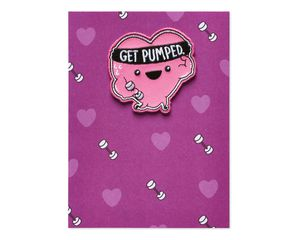 Get Pumped Valentine's Day Card