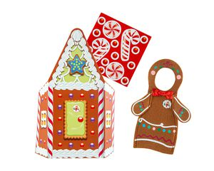 The Elf on the Shelf® Claus Couture Jolly Gingerbread Activity Set