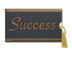 success money and gift card holder graduation card