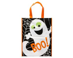 Boo Halloween Plastic Bag