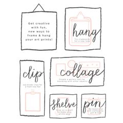 Everyday Manifesto Frameable Art Print, 8 in. x 10 in.