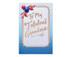 Fabulous Mother's Day Card for Grandma
