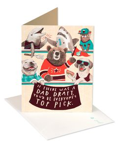 Dad Draft Father's Day Card