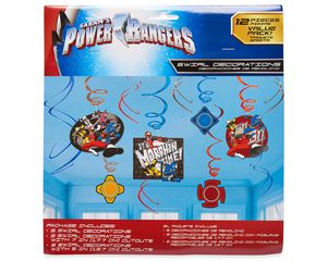Power Rangers Ninja Steel Hanging Party Decorations