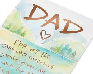Kathy Davis Guidance Birthday Card for Father