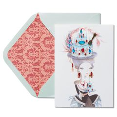 Eat Cake Birthday Greeting Card