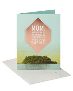 Female Warriors Mother's Day Card