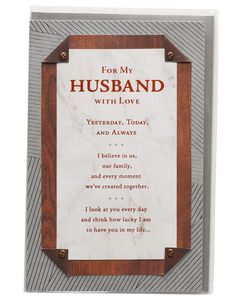 Always Father's Day Card for Husband